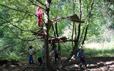 Waldkindergarten Spitzwald bleibt einer der wenigen Waldkindergärten in der Region