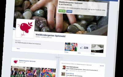 Waldkindergarten Spitzwald auf Facebook